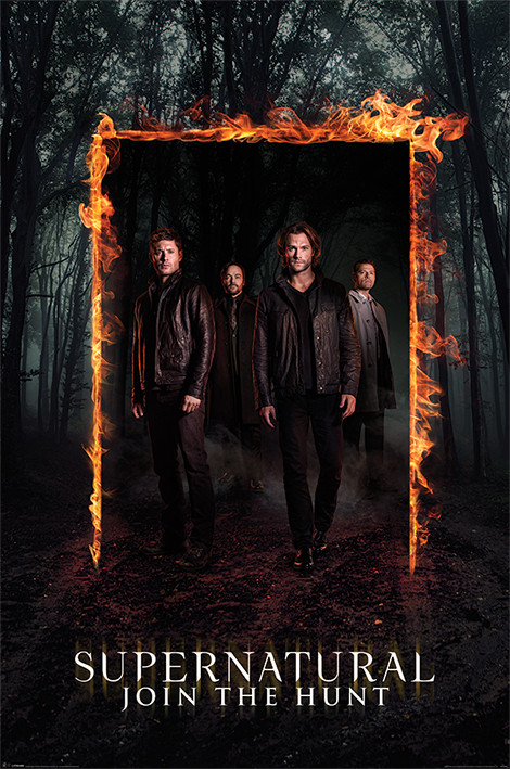 Posters Plakát, Obraz - Lovci duchů - Supernatural - Burning Gate, (61 x 91,5 cm)
