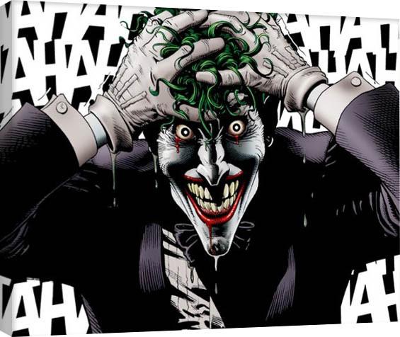 Posters Obraz na plátně Batman - The Joker Killing Joke, (80 x 60 cm)