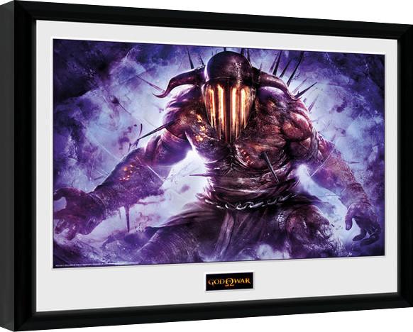 Posters God of War - Hades zarámovaný plakát