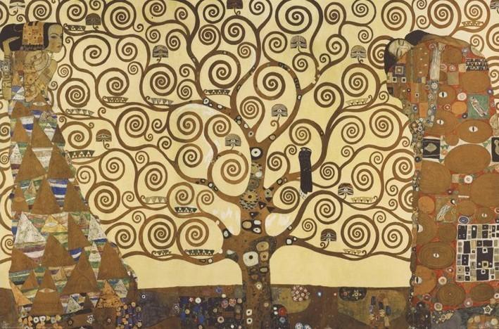 Posters Plakát, Obraz - Gustav Klimt - Strom života, (91,5 x 61 cm)