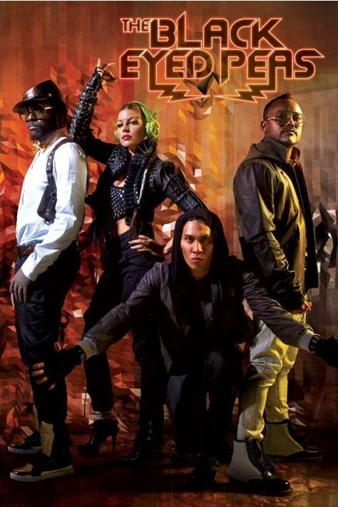 Posters Plakát, Obraz - Black Eyed Peas - boom boom pow, (61 x 91,5 cm)