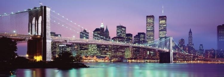 Posters Plakát, Obraz - New York - skyline, (158 x 53 cm)