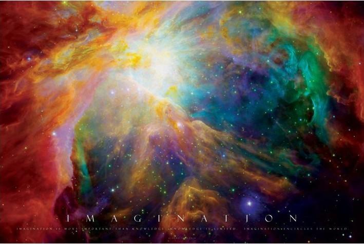 Posters Plakát, Obraz - Imagination - nebula, (91,5 x 61 cm)