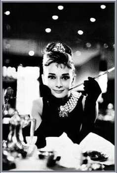 Audrey Hepburn - breakfast plakáty | fotky | obrázky