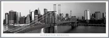 Manhattan - morning b&w plakáty | fotky | obrázky