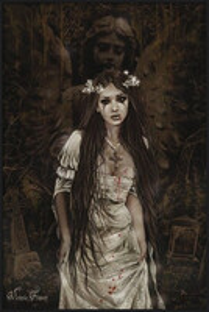 Victoria Frances - anatheme rámovaný plakát