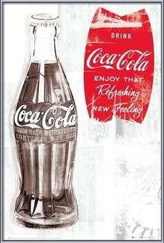 Coca Cola - retro  rámovaný plakát