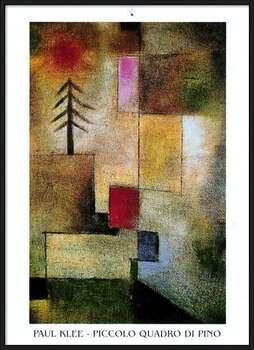 Rámovaný plakát  P.Klee - Piccolo Quadro Di Pino