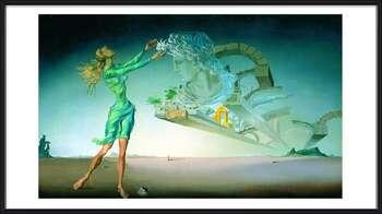 Rámovaný plakát  Salvador Dalí – Mirage