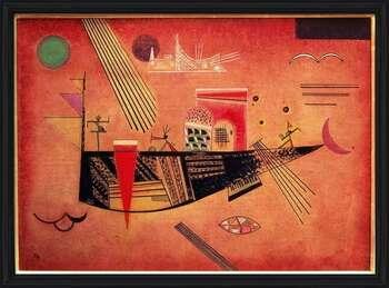 Rámovaný plakát  Wassily Kandinsky - Whimsical