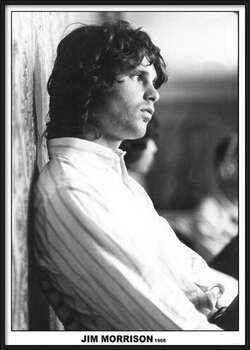 Rámovaný plakát Jim Morrison - The Doors 1968