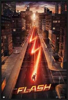 Rámovaný plakát The Flash - One Sheet