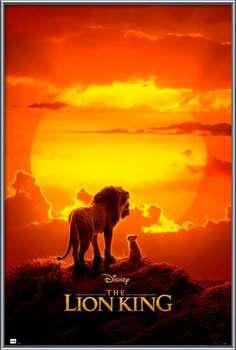Rámovaný plakát The Lion King - One Sheet
