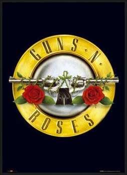 Rámovaný plakát Guns'n'Roses - logo