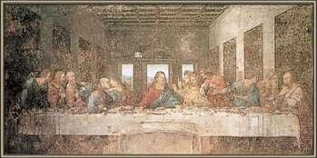 Rámovaný plakát The Last Supper