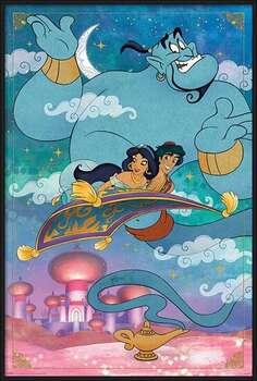 Rámovaný plakát Aladdin - A Whole New World