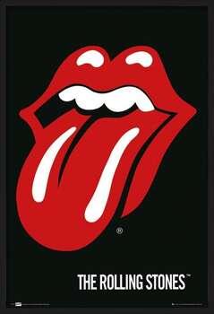 Rámovaný plakát the Rolling Stones - Lips