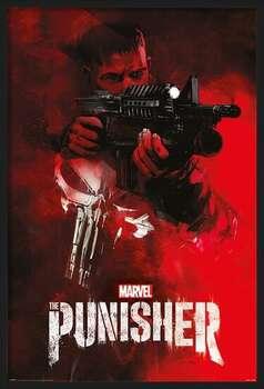 Rámovaný plakát The Punisher - Aim