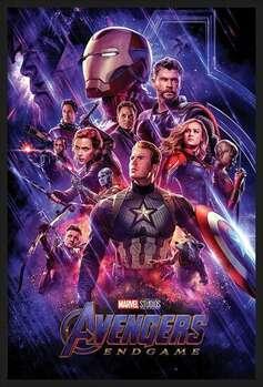 Rámovaný plakát Avengers: Endgame - Journey's End