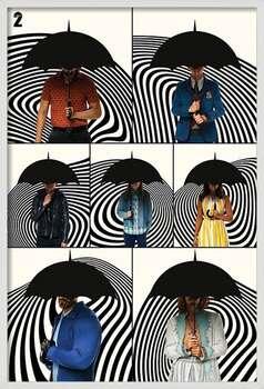 Rámovaný plakát The Umbrella Academy - Family