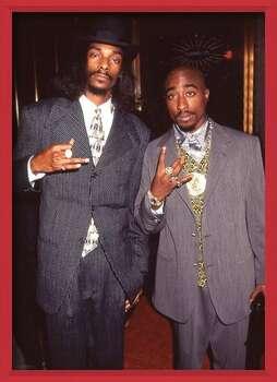 Rámovaný plakát Snoop Dogg & Tupac - Suits