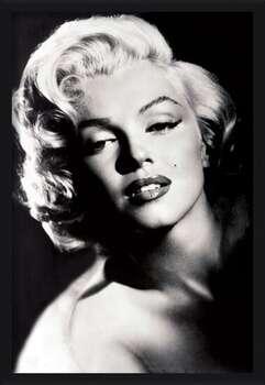 Rámovaný plakát Marilyn Monroe - glamour