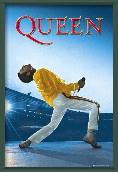 Plakát Queen - Live At Wembley
