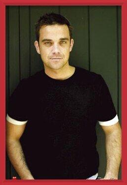 Plakát  Robbie Williams - t-shirt
