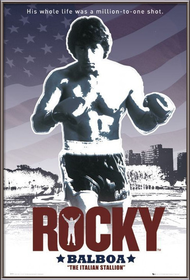 Plakát ROCKY - flag