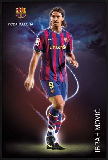 Plakát  Barcelona - ibrahimovic 09/10