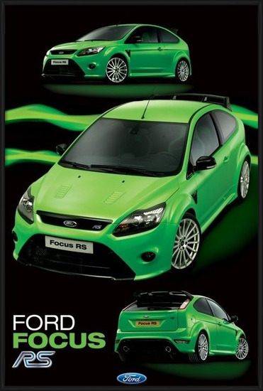 Plakát Ford Focus RS