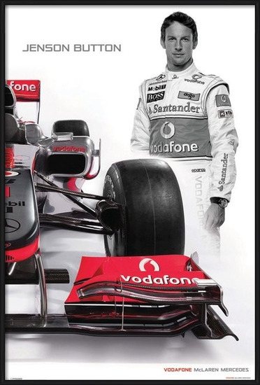Plakát  McLaren Double - button