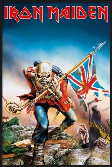 Plakát  IRON MAIDEN - trooper