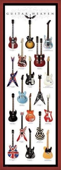 Plakát Guitar heaven