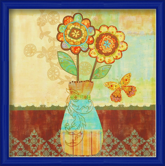 Obrazová reprodukce Bohemian Floral II