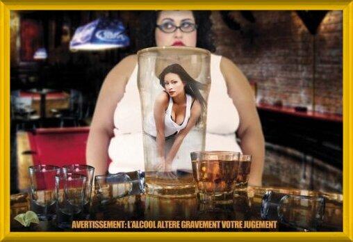 Plakát  Alcohol warning - france