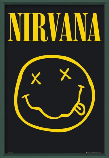 Plakát Nirvana – smiley