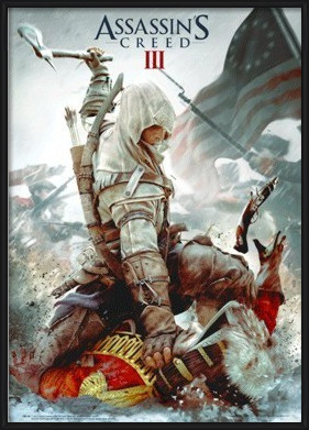 Assassin's Creed III. - cover 3D Plakát, 3D Obraz