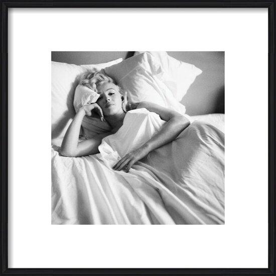 Obrazová reprodukce Marilyn Monroe - Bed