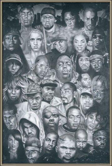 Plakát  Hip Hop