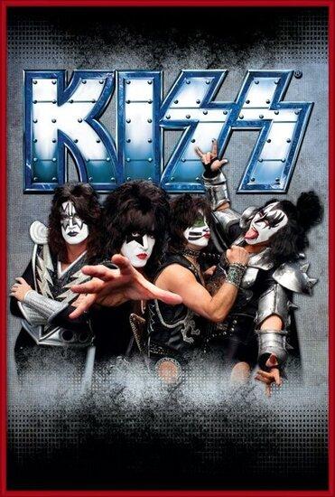 Plakát  Kiss - monster