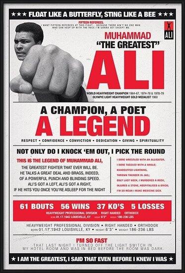 Plakát  Muhammad Ali - vintage corbis