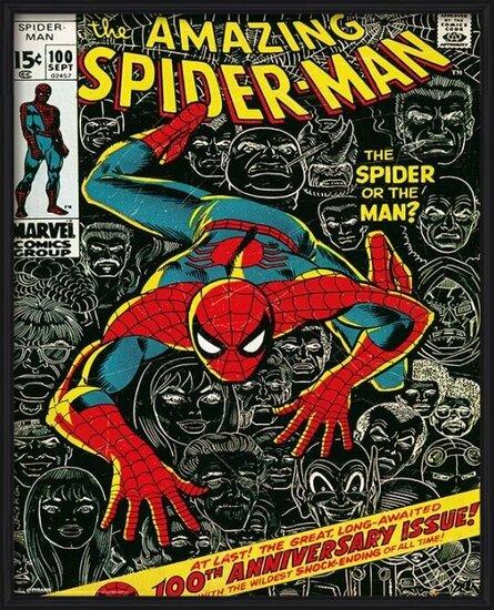 Plakát MARVEL - spider-man cover