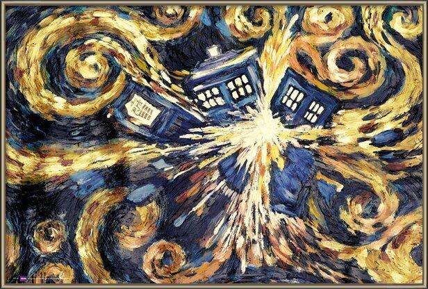 Plakát  DOCTOR WHO - exploding tardis