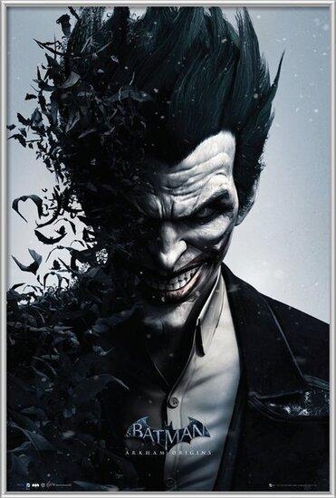 Plakát  BATMAN ORIGINS - joker bats