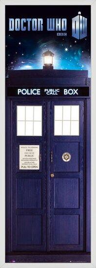 Plakát DOCTOR WHO - tardis