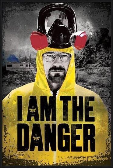 Plakát  BREAKING BAD - i am the danger