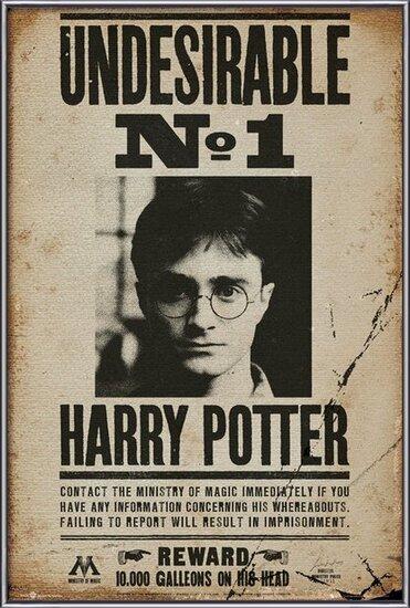 Plakát HARRY POTTER - Undesirable n2