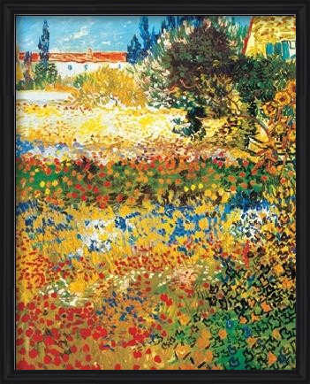 Obrazová reprodukce Kvetoucí zahrada, 1888