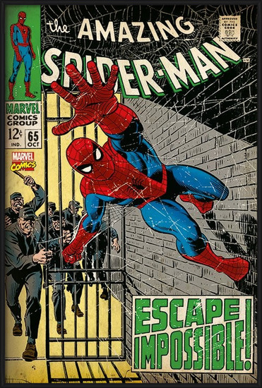 Plakát  Spiderman - Escape Impossible
